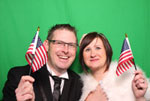 SnappaBox Photo Booth Hire - with green screen